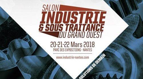Retrouvez-nous au Salon de l'Industrie de Nantes