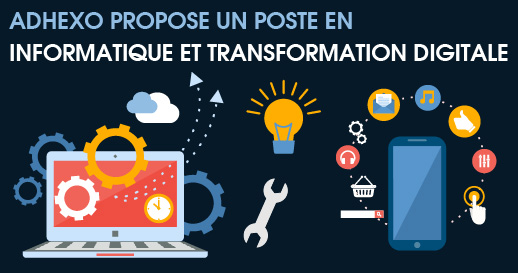 recrutement poste en informatique et transformation digitale